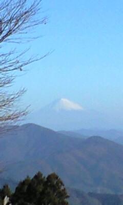 粟ヶ岳より